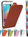 Kılıf Na Samsung Galaxy S6 edge plus / S6 edge / S6 Flip Pełne etui Solidne kolory Prawdziwa skóra