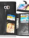 Kılıf Na Samsung Galaxy S7 Edge / S7 / S6 edge plus Portfel / Etui na karty / Z podpórką Pełne etui Solidne kolory Skóra PU