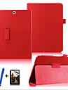 Kılıf Na Samsung Galaxy / Tab S2 9.7 Obrót 360° / Z podpórką / Flip Pełne etui Solidne kolory Twardość Skóra PU