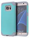 Kılıf Na Samsung Galaxy S7 Edge / S7 Odporny na wstrząsy Osłona tylna Solidne kolory PC