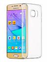 ASLING Kılıf Na Samsung Galaxy Samsung Galaxy S7 Edge Transparentny Osłona tylna Solidne kolory TPU na S7 Edge / S7