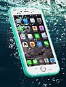 Kılıf Na Jabłko iPhone 6s Plus / iPhone 6s / iPhone 6 Plus Wodoszczelny Osłona tylna Solidne kolory Miękka TPU