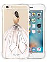 Kılıf Na Jabłko iPhone 6s Plus / iPhone 6s / iPhone 6 Plus Odporny na wstrząsy / Transparentny / Wzór Osłona tylna Seksowna kobieta Miękka Silikon