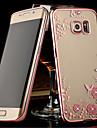 Kılıf Na Samsung Galaxy S8 Plus / S8 / S7 Edge Transparentny Osłona tylna Kwiat TPU