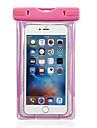 Kılıf Na iPhone 6s Plus / iPhone 6 Plus / iPhone 6s Wodoodporny / Z okienkiem Pokrowiec Solidne kolory Miękka PC