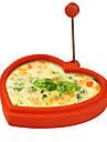 silikonowa foremka do smażenia w kształcie serca omlet z naleśników do gotowania śniadaniowych narzędzi kuchennych