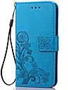 Coque Pour Samsung Galaxy Note 5 / Note 4 / Note 3 Portefeuille / Porte Carte / Avec Support Coque Integrale Fleur Flexible faux cuir
