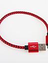 USB 2.0 Kable Pleciony Aluminium Adapter kabla USB Na Samsung