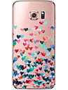 Kılıf Na Samsung Galaxy S7 Edge / S7 / S6 edge plus Transparentny / Wzór Osłona tylna Serce Miękka TPU