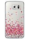 Kılıf Na Samsung Galaxy S6 / S5 / S4 Transparentny / Wzór Osłona tylna Serce Miękka TPU