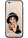 Kılıf Na Jabłko iPhone X / iPhone 8 Plus / iPhone 8 Transparentny / Wzór Osłona tylna Seksowna kobieta Miękka TPU