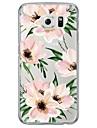 Kılıf Na Samsung Galaxy S7 Edge / S7 / S6 edge plus Ultra cienkie / Półprzezroczyste Osłona tylna Kwiat Miękka TPU