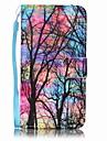 Kılıf Na Samsung Galaxy A5(2016) / A3(2016) Portfel / Etui na karty Pełne etui Drzewo Twardość Skóra PU