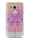 Kılıf Na Samsung Galaxy J7 (2016) / J5 (2016) / J5 Ultra cienkie / Transparentny / Wzór Osłona tylna Kwiat Miękka TPU