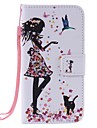 Kılıf Na Samsung Galaxy Portfel / Etui na karty / Z podpórką Pełne etui Seksowna kobieta Twardość Skóra PU na J3 (2016) / J3