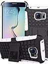 Kılıf Na Samsung Galaxy S7 Edge / S7 / S6 edge Odporny na wstrząsy / Z podpórką Osłona tylna Zbroja PC
