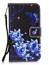 Kılıf Na Samsung Galaxy S8 Plus / S8 / S7 Edge Portfel / Etui na karty / Z podpórką Osłona tylna Kwiat Twardość Skóra PU