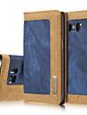 Kılıf Na Samsung Galaxy S7 Edge / S7 / S6 edge Portfel / Etui na karty / Z podpórką Pełne etui Solidne kolory Twardość Tekstylny