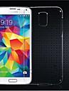 Kılıf Na Samsung Galaxy Samsung Galaxy Etui Transparentny Osłona tylna Solidne kolory TPU na S5 Mini