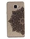 Kılıf Na Samsung Galaxy A5(2016) / A3(2016) / A5 IMD / Transparentny / Wzór Osłona tylna Kwiat Miękka TPU