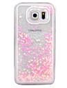 Kılıf Na Samsung Galaxy S7 Edge / S7 Z płynem / Transparentny Osłona tylna Połysk Twardość PC na S7 Edge / S7 / S6 edge plus