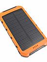 10000 mAh Na Zewnętrzna bateria Power Banku 5 V Na 3.1 A / # Na Ładowarka Wodoodporny / Wiele wyjść / Na energię słoneczną LED