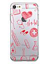 Kılıf Na Jabłko iPhone X / iPhone 8 Plus / iPhone 8 Ultra cienkie / Wzór Osłona tylna Dachówka Miękka TPU