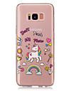 Kılıf Na Samsung Galaxy S8 Plus / S8 IMD / Transparentny / Wzór Osłona tylna Jednorożec Miękka TPU na S8 Plus / S8 / S5 Mini
