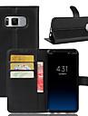 Kılıf Na Samsung Galaxy A3(2017) / A5(2017) / A7(2017) Portfel / Etui na karty / Odporny na wstrząsy Pełne etui Solidne kolory Twardość Skóra PU