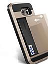 Kılıf Na Samsung Galaxy S8 Plus / S8 / S7 Edge Etui na karty Osłona tylna Solidne kolory Twardość PC