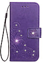 Kılıf Na Samsung Galaxy Grand Prime / Core Prime Portfel / Etui na karty / Z podpórką Pełne etui Kwiat Twardość Skóra PU