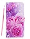Kılıf Na Samsung Galaxy S8 Plus / S7 Edge / S7 Portfel / Etui na karty / Z podpórką Pełne etui Kwiat Twardość Skóra PU