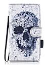 Kılıf Na Samsung Galaxy J5 (2017) / J5 (2016) / J3 (2017) Portfel / Etui na karty / Z podpórką Pełne etui Czaszka Twardość Skóra PU