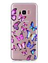 Kılıf Na Samsung Galaxy S8 Plus / S8 / S7 Edge Transparentny / Wzór Osłona tylna Motyl Miękka TPU