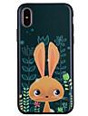 Kılıf Na Jabłko iPhone X / iPhone 8 Plus / iPhone 8 Wzór Osłona tylna Zwierzę / Kreskówki Miękka Silikon