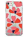 Kılıf Na Jabłko iPhone X / iPhone 8 Plus / iPhone 8 Wzór Osłona tylna Kwiat Miękka TPU
