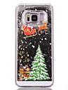 Kılıf Na Samsung Galaxy S7 Edge / S7 / S6 edge Z płynem / Wzór Osłona tylna Święta Twardość PC