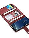 Θήκη Za Samsung Galaxy S8 Plus / S8 / S7 edge Novčanik / Utor za kartice / Zaokret Korice Jedna barva Tvrdo prava koža