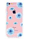 Kılıf Na Jabłko iPhone X / iPhone 8 Plus / iPhone 8 Ultra cienkie / Transparentny / Wzór Osłona tylna Kwiat Miękka TPU