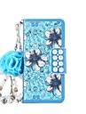 Kılıf Na Samsung Galaxy Note 8 / Note 5 / Note 4 Portfel / Etui na karty / Z podpórką Pełne etui Kwiat Twardość Skóra PU