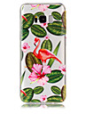Kılıf Na Samsung Galaxy S8 Plus / S8 / S7 Edge Transparentny / Wzór Osłona tylna Flaming Miękka TPU