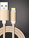 USB 2.0 Kable 1m-1.99m / 3ft-6ft Pleciony Nylon Adapter kabla USB Na Huawei / LG / Lenovo