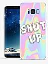 Kılıf Na Samsung Galaxy S8 Plus / S8 / S7 Edge Wzór Osłona tylna Napis / Zdanie / Marmur Miękka TPU