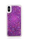 Kılıf Na Jabłko iPhone X / iPhone 8 Plus / iPhone 8 Z płynem Osłona tylna Solidne kolory / Moro Miękka TPU