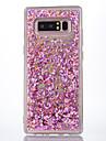Kılıf Na Samsung Galaxy Note 8 Z płynem / Transparentny Osłona tylna Transparentny / Połysk Miękka TPU