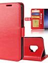 Kılıf Na Samsung Galaxy Portfel / Etui na karty / Z podpórką Solidne kolory Twardość