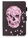 Kılıf Na Samsung Galaxy Tab S2 9.7 Portfel / Etui na karty / Z podpórką Pełne etui Czaszka Twardość Skóra PU