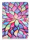 Kılıf Na Samsung Galaxy Tab S2 9.7 Portfel / Etui na karty / Z podpórką Pełne etui Kwiat Twardość Skóra PU