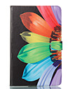 Kılıf Na Samsung Galaxy Tab A 10.1 (2016) Portfel / Z podpórką / Flip Pełne etui Kwiat Twardość Skóra PU