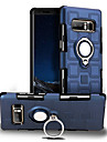Kılıf Na Samsung Galaxy Note 8 Obrót 360° / Odporny na wstrząsy / Uchwyt pierścieniowy Osłona tylna Solidne kolory Twardość PC